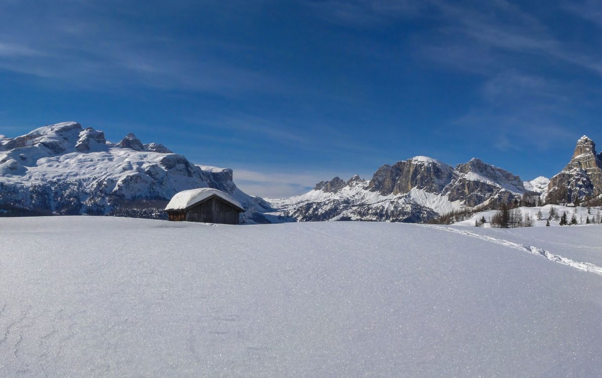 Image: Colfosco in Alta Badia in the heart of the Dolomites